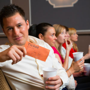 Man with Ticket